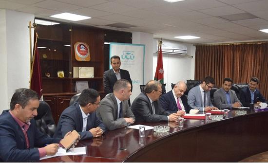 اتفاقية تعاون بين الهاشمية ومنصة نوى