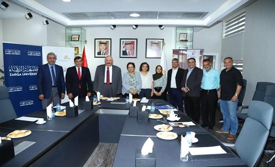 اتفاقية لبرنامج منح التعليم السوري الأردني بين جامعتي الزرقاء والألمانية