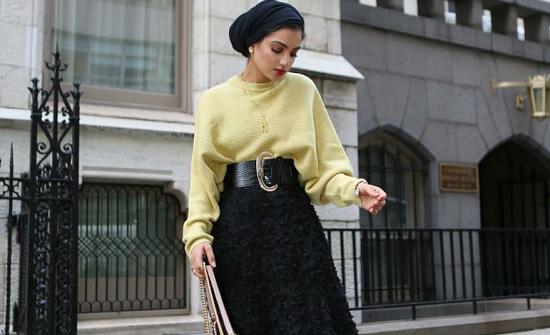 ملابس محجبات للقصيرات موضة خريف 2019