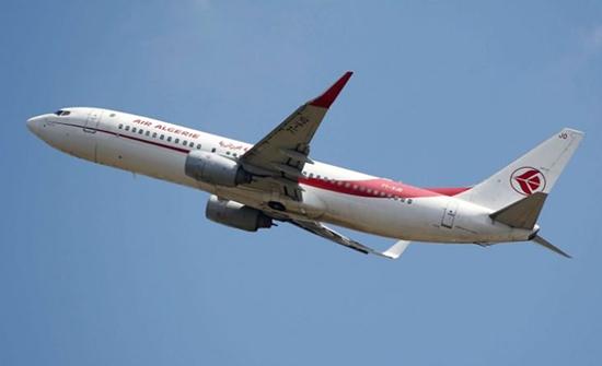 صورة : لحظات مرعبة لركاب طائرة جزائرية بعد انفجار محركها في السماء