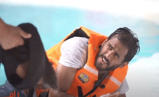 شاهد.. مروان محسن يعتدي على رامز جلال بالضرب بعد اكتشاف المقلب