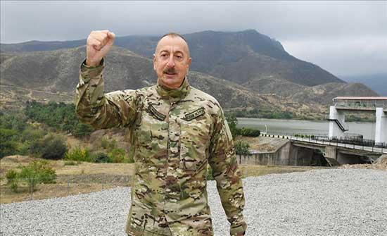 """نفى وجود إسرائيل على حدود أذربيجان.. علييف: """"هاتوا برهانكم"""""""