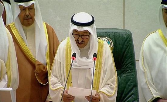أمير الكويت: ننبه إلى خطورة الأوضاع الملتهبة حولنا
