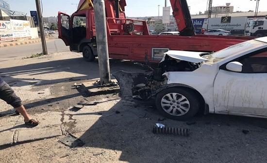 3 إصابات اثر حادث تصادم في الزرقاء