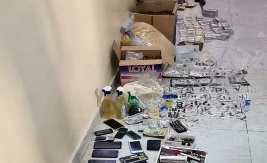 بالصور : ضبط  13 شخصاً من مروجي المخدرات احدهم مصنف بالخطير جداً والمسلح