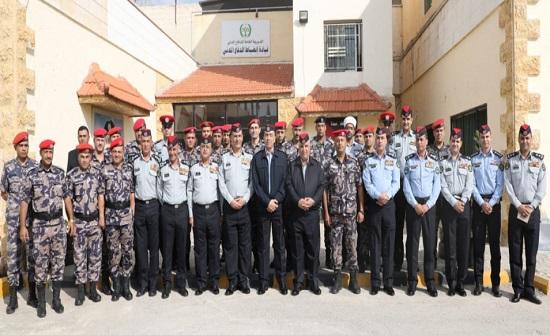 مديرا الأمن العام والدفاع المدني يزوران قيادة انضباط الدفاع المدني ومركز الإصلاح والتأهيل التابع لها