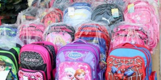 وادي الاردن : توزع حقائب مدرسية على طلبة مدارس في الشونة الجنوبية