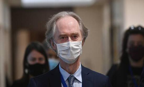بيدرسن يعتزم زيارة دمشق بعد موسكو لمناقشة اللجنة الدستورية