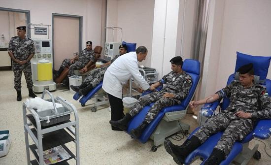 نشامى الدرك يهبون تلبية لمناشدة مواطنة بحاجة للدم