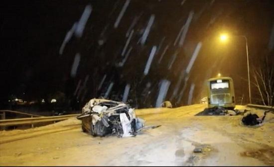 حادث سير يوقف حركة السير من دبة حانوت صعوداً بإتجاه النقب