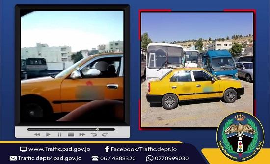 ضبط مركبة تعليم قيادة يرتكب سائقها سلوكا غريبا (فيديو)