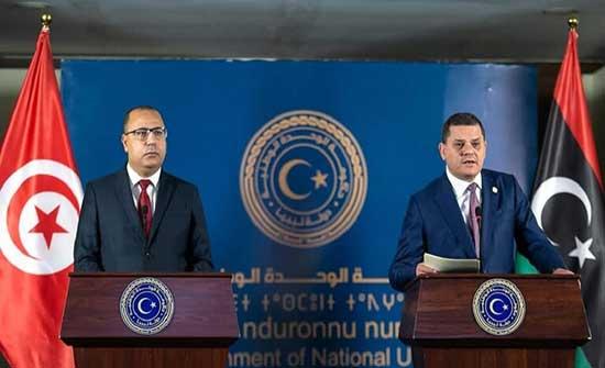 رئيس الوزراء التونسي يشدد من العاصمة الليبية على تعزيز التعاون الاقتصادي