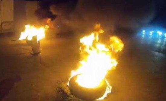 اعمال شغب في شفا بدران بعد اعلان فوز مرشح خلفا لاخر