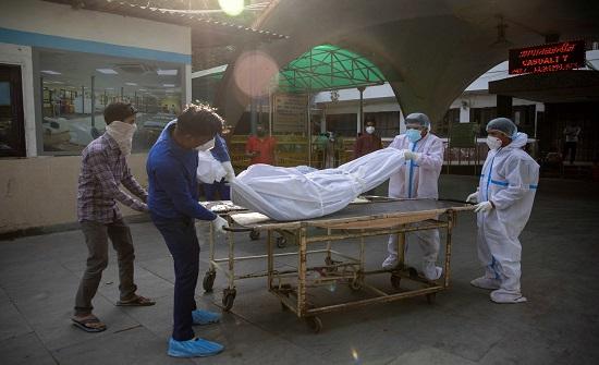 تواصل ارتفاع عدد وفيات كورونا في الهند
