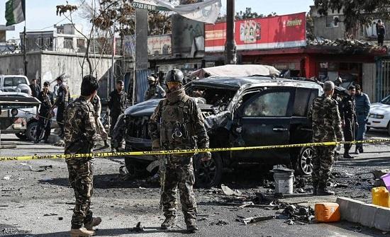 قتيلان ومصابون في سلسلة تفجيرات بكابول
