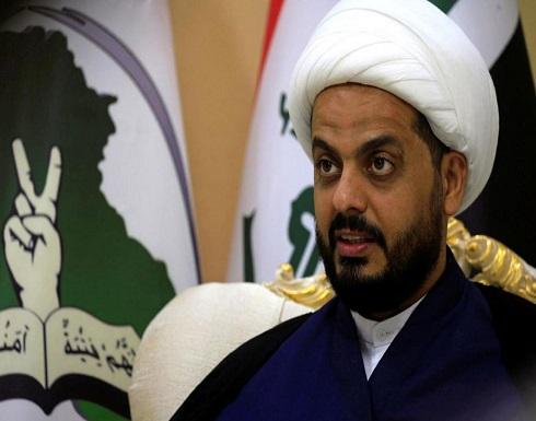 قيس الخزعلي : تصريحات بـأن القـوات الأمنيـة العراقيـة مـا زالـت بحاجـة إلى مساعدة القـوات الأمريكيـة تـصريـح مؤسف