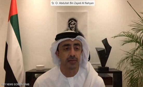 عبد الله بن زايد: مصممون على تعزيز العلاقات مع أميركا
