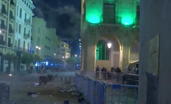 لبنان.. مواجهات وإطلاق رصاص كثيف في محيط جسر الرينغ