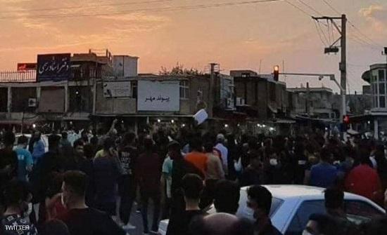 أميركا: نتابع عن قرب التظاهرات في إقليم خوزستان في إيران