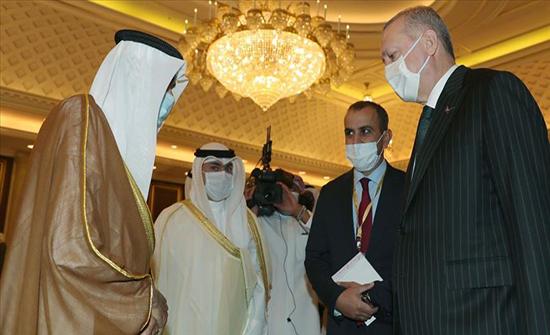 الرئيس أردوغان يعزي أمير الكويت بوفاة سلفه صباح الأحمد