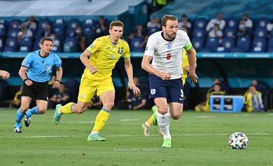 إنجلترا تقسو على أوكرانيا برباعية و تكمل عقد نصف النهائي الاوروبي .. بالفيديو