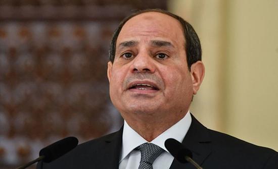 الملك يجري اتصالا هاتفيا مع الرئيس المصري