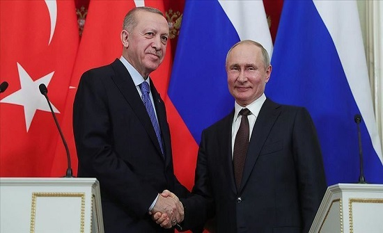 """أردوغان وبوتين يبحثان اتفاق """"قره باغ"""""""