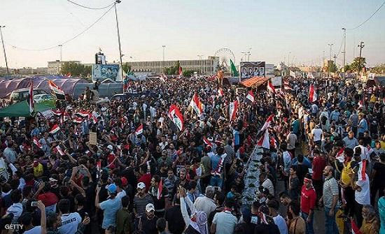 مقتل عراقية وواشنطن تدعو بغداد للاستماع للمحتجين