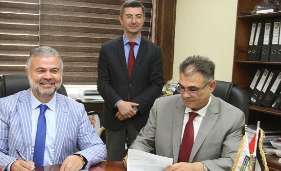 مذكرة تفاهم بين البلقاء التطبيقية وجامعة عثمان غازي باشا التركية