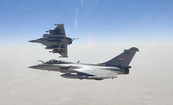 باريس: صفقة بيع مقاتلات رافال لمصر ستوفر 7 آلاف وظيفة في فرنسا