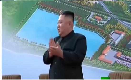 فيديو.. زعيم كوريا الشمالية يفاجئ العالم