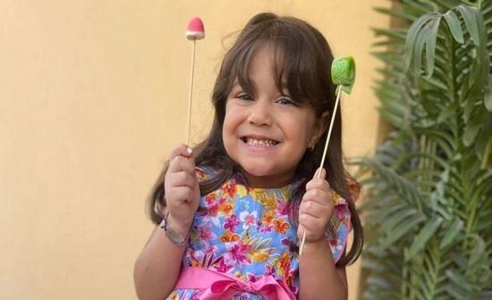 أحمد زاهر يحتفل بعيد ميلاد ابنته الصغرى نور