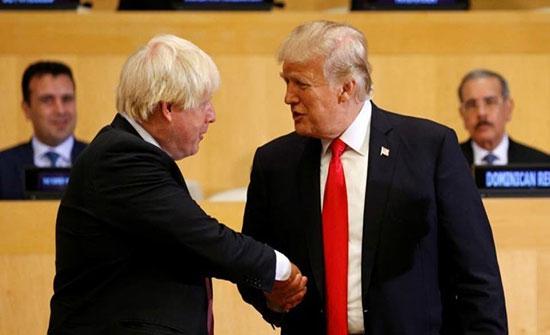 ترمب يشيد بـ جونسون بعد تعليق أعمال البرلمان البريطاني