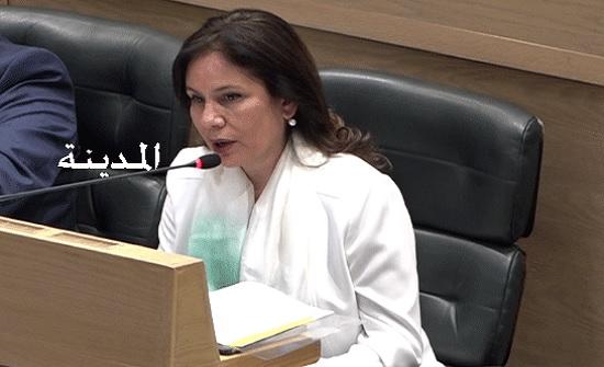وزيرة الطاقة تؤكد أهمية الغاء بدل خدمات استيراد المشتقات النفطية عبر الترانزيت