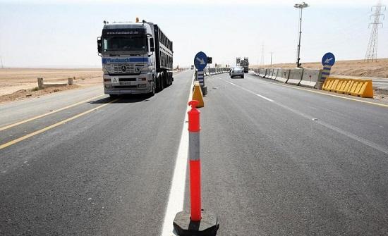 99 % نسبة الانجاز في الطريق الصحراوي