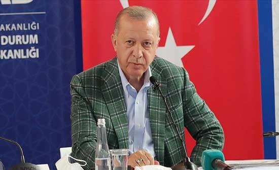 أردوغان: سنقوم بما يلزم بحال تأكدنا من وجود صلة للإرهاب بحرائق الغابات