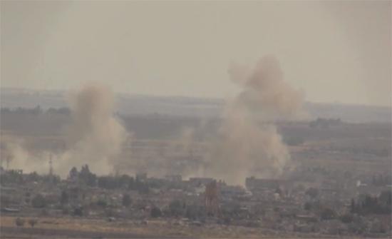 أكثر من 30 قتيلا وجريحا بتفجير استهدف سوقا شعبية في تل أبيض شمال سوريا