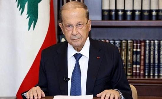 الرئيس اللبناني يدين الاعتداء الإسرائيلي على جنوب لبنان