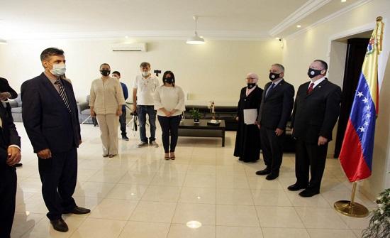 السفارة الفنزويلية في عمان تحتفي بالعيد الوطني