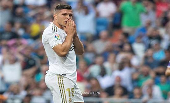 يوفيتش خارج قائمة ريال مدريد لمواجهة إيبار