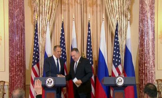بالفيديو - لافروف: مستوى العلاقات بين موسكو وواشنطن لا يتوافق مع مصالح البلدين والعالم