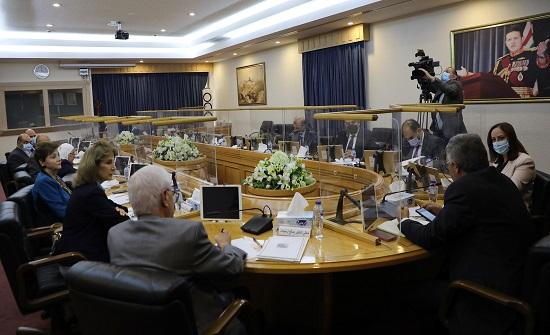 لجنة في الأعيان تطلع على آليات التعاون مع الاتحاد الأوروبي
