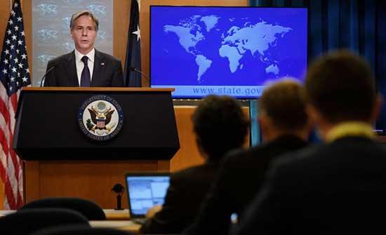بلينكن: الخارجية الأمريكية على اتصال مستمر بأمريكيين عالقين في أفغانستان