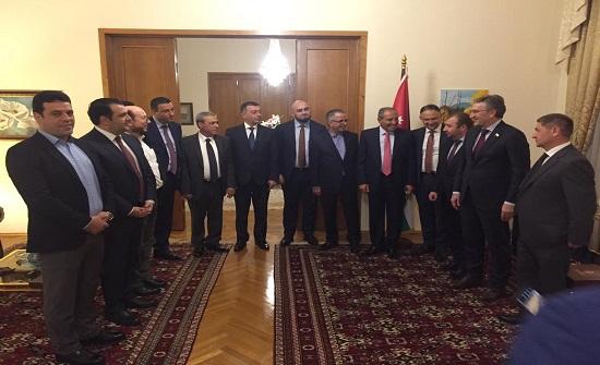 وفد برلماني اردني يبحث في روسيا تعزيز العلاقات