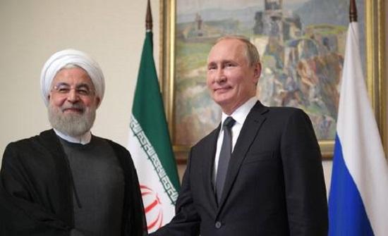 بوتين يبحث مع روحاني هدنة قره باغ والاتفاق النووي ومكافحة كورونا