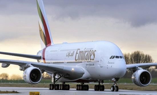 ايرباص الإماراتية تدشن استئناف الرحلات بين دبي وعمّان