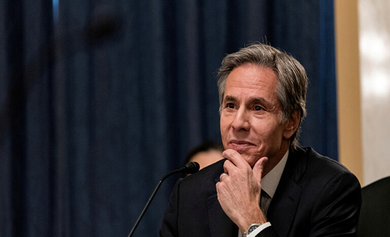 مجلس الشيوخ الأمريكي يقر تعيين بلينكن وزيرا للخارجية