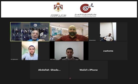 """""""ريادة أعمال"""" جامعة الشرق الأوسط تلتقي دائرة الجمارك الاردنية.. """"إلكترونيا"""""""