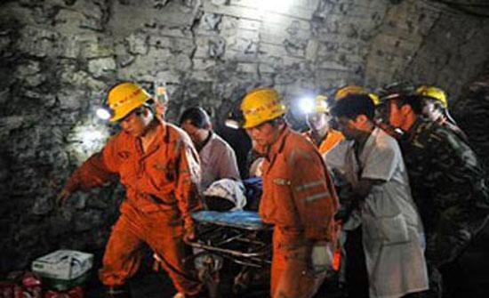 7 قتلى بانفجار غاز في منجم فحم بالصين