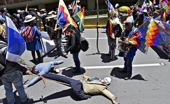 قتيلان بصدامات بين أنصار الرئيس موراليس ومعارضيه في بوليفيا